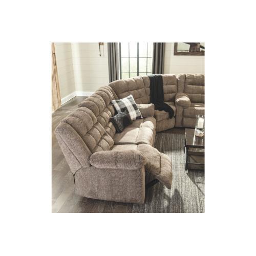 Signature Design By Ashley - Workhorse Reclining Sofa