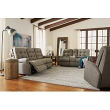 Devon Reclining Loveseat with Console