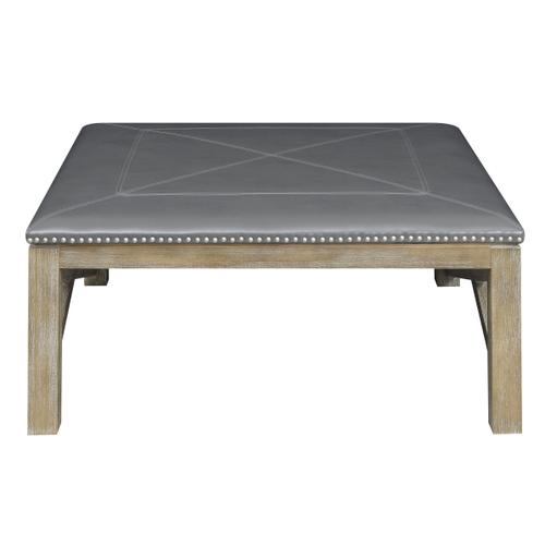 Laney Square Coffee Table, Fossil Gray T4389-00-03