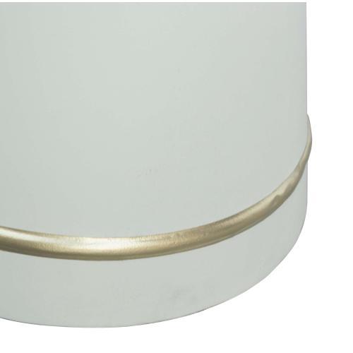 Dumbo White Concrete Coffee Table