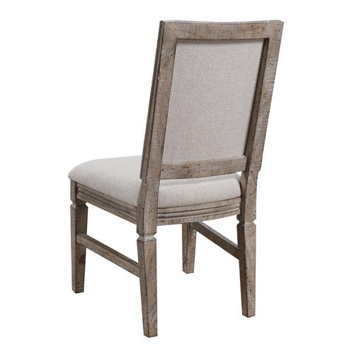 Interlude II Upholstered Dining Chair, Sandstone Brown D561-20-05