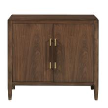 Walnut Two Door Chest