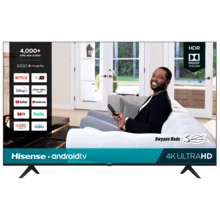 "65"" Class- H65G Series - 4K UHD Hisense Android Smart TV (2020)"