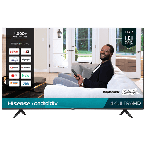 """Product Image - 43"""" Class- H65G Series - 4K UHD Hisense Android Smart TV (2020)"""