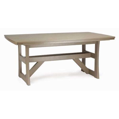 "Breezesta - Piedmont 42""x70"" Dining Table"