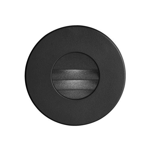 Black Round In/outdoor 3w LED Wall Li