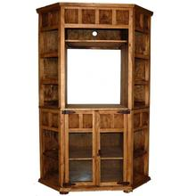 See Details - Small Corner TV Bookcase