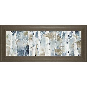 "Classy Art - ""Blue Upon The Hill"" By Lanie Loreth Framed Print Wall Art"