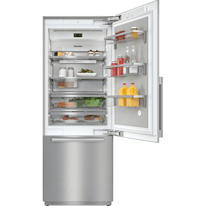 KF 2801 SF - MasterCool™ fridge-freezer with high-quality features and maximum storage space for exacting demands. Product Image