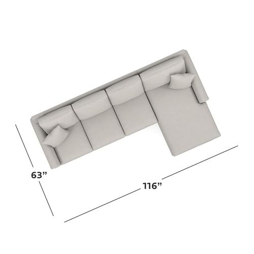 CU.2 Right Chaise Sectional