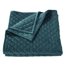 See Details - Velvet Diamond Quilts, 6 Colors - Full/queen / Teal
