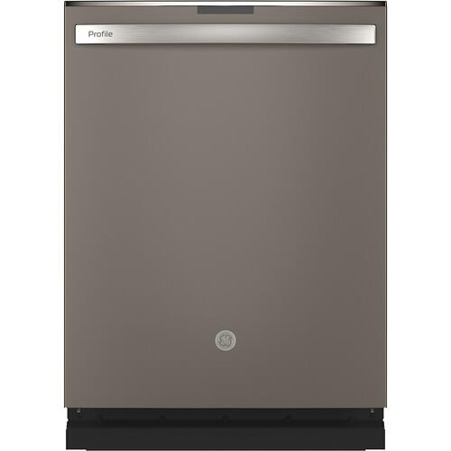 GE Profile™ Stainless Steel Interior Dishwasher with Hidden Controls Slate - PDT715SMNES