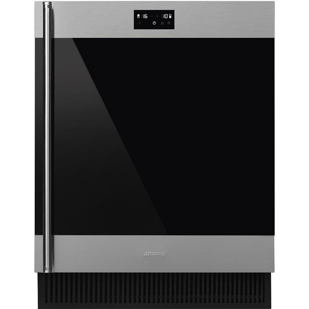 "Smeg60 Cm (Approx. 24"") Built-In Under Counter Wine Cooler"