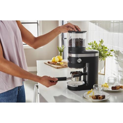 KitchenAid - Burr Coffee Grinder - Black Matte