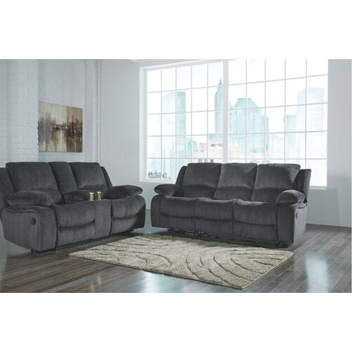 Kellerhause Reclining Loveseat With Console