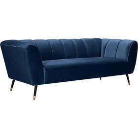 """Beaumont Velvet Sofa - 83"""" W x 34"""" D x 29"""" H"""