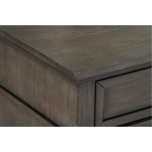 Amberleigh 9-Drawer Dresser, Grey