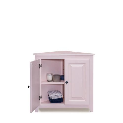See Details - Corner Shelf with Doors