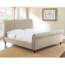 Swanson King Bed, Sand
