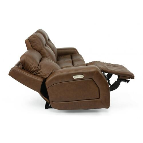 Duke Triple Power Reclining Sofa with Power Headrests