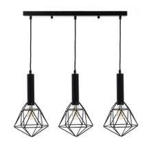See Details - Adelide Geometric Pendant // 3 Light