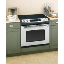 """See Details - GE® 30"""" Drop-In Electric Range with Self-Cleaning Oven"""