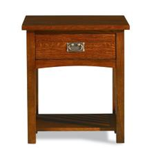 View Product - Mission 1 Drawer Nightstand
