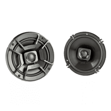 "DB+ Series 6.5"" Coaxial Speakers with Marine Certification in Black"