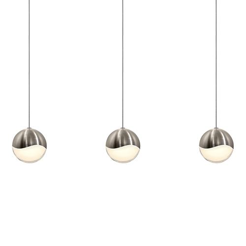 Grapes® 3-Light Rectangle Large LED Pendant