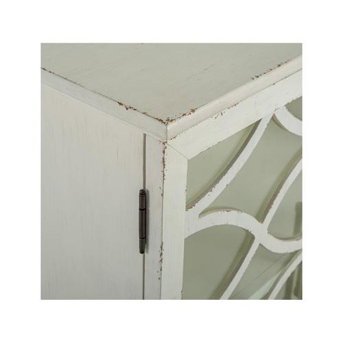 2 Door Console - White