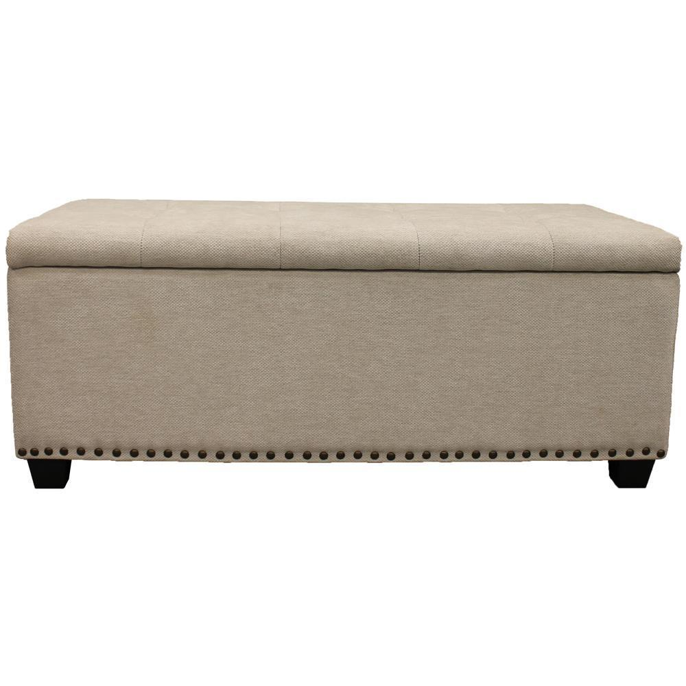 CASEY - LACE Storage Bench
