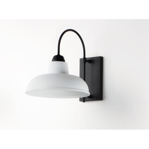 Industrial 1-Light Outdoor Wall Sconce