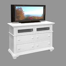 See Details - Four Drawer Entertainment Center