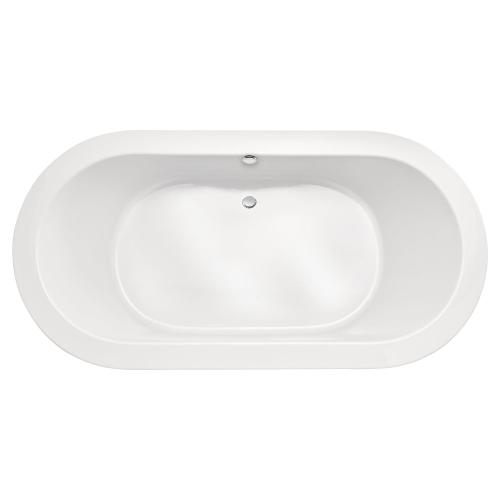 Lowell Freestanding Soaking Tub - Canvas White