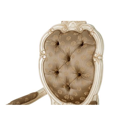 Chateau de Lago Arm Chair Blanc