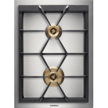 "Vario gas cooktop 400 series VG 424 210 CA Stainless steel Width 15"" Equipped for natural gas."