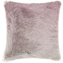 """Shag Tr011 Lavender 20"""" X 20"""" Throw Pillow"""