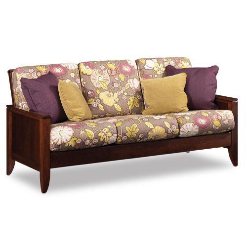 Simply Amish - Justine Sofa, Sofa / Leather Cushions