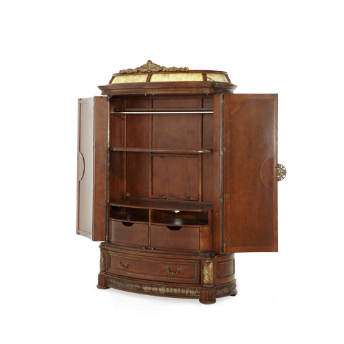 Illuminated Armoire (3 pc)