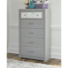 Arcella Chest of Drawers Gray