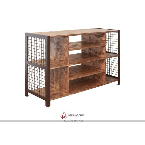 Cocktail Table with 4 open compartments**