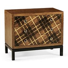 See Details - Hand Inlaid Tartan Low Chest