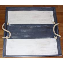 "#542 Large Serving Tray 28""wx28""dx3""h"
