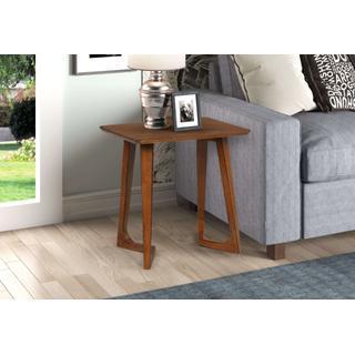 Double V-leg Rectangular End Table