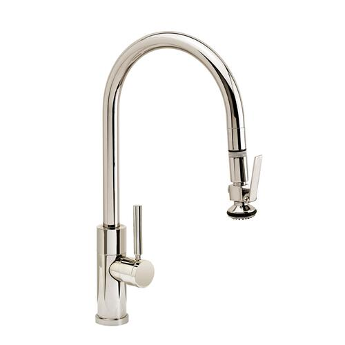 Modern PLP Pulldown Faucet - Angled Spout - 9860 - Waterstone Luxury Kitchen Faucets