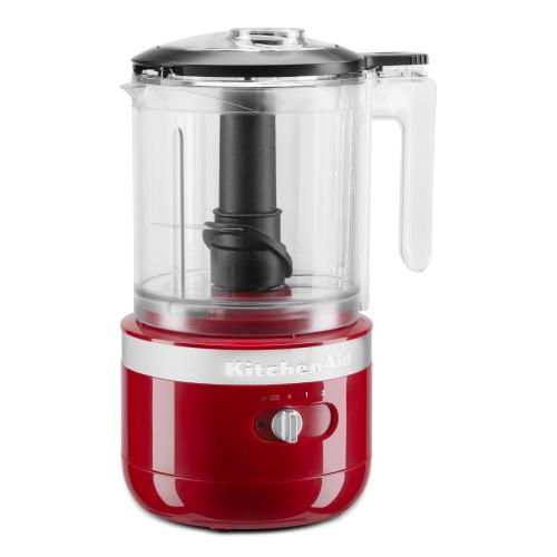 KitchenAid - Cordless 5 Cup Food Chopper - Empire Red