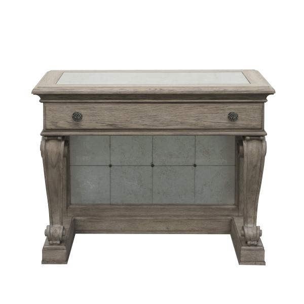 Ella Bedside Table in Gray