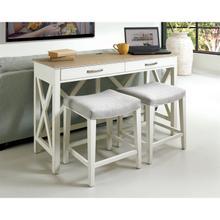 See Details - Osborne - Workstation - Timeless Oak/winter White Finish