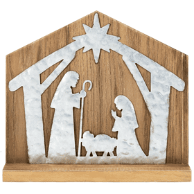Nativity Table Plaque