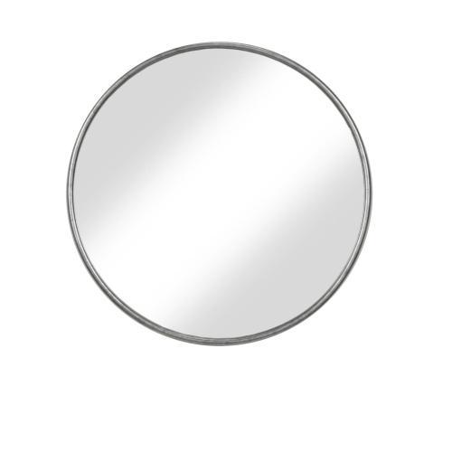 Round 36in Mirror - Antique Pewter
